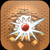 the Brick Breaker ball game