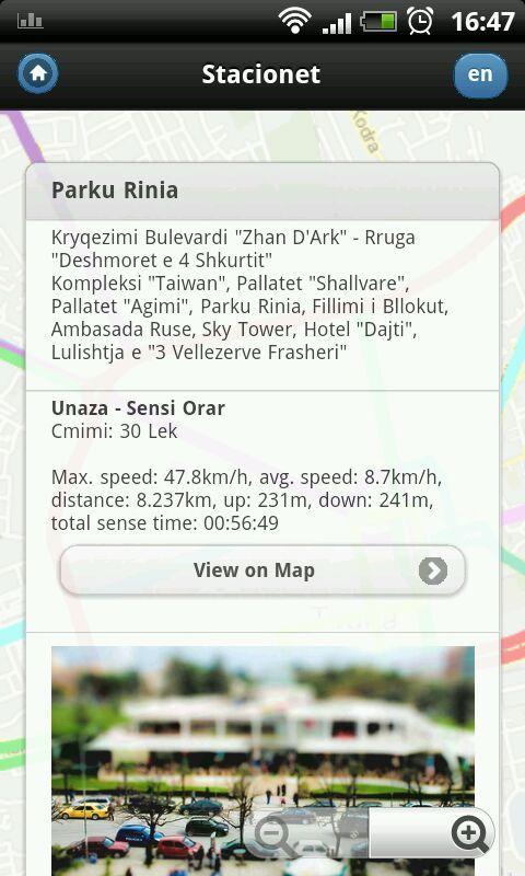 Tirana Buses - screenshot