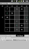 Screenshot of Guitar Scales