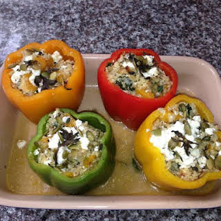 Quinoa Stuffed Peppers.