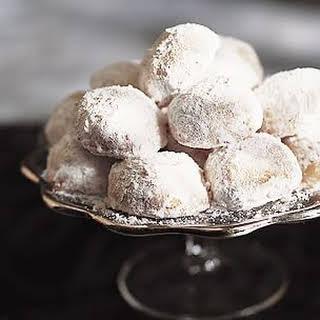 Mexican Wedding Cookies.