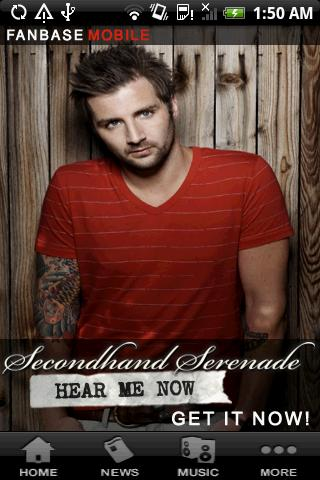 Secondhand Serenade Fanbase - screenshot