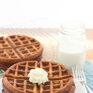 Brown Butter Gingerbread Waffles Recipe