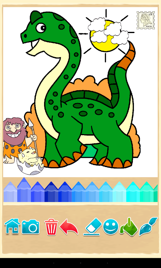 Dino Coloring Game- screenshot
