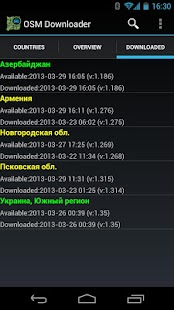 OSM Downloader- screenshot thumbnail