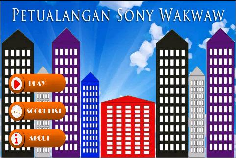 Petualangan Sony Wakwaw