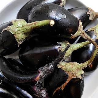 Lauren Shockey's Roasted Eggplant Mashed Potatoes.