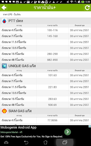 【免費新聞App】ราคาน้ำมัน+-APP點子