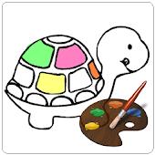 Kid coloring games