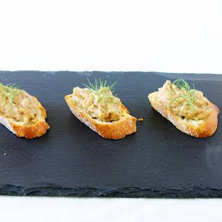 Roasted Fennel, Garlic & White Bean Crostini.