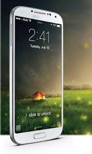 IOS8螢火蟲鎖屏