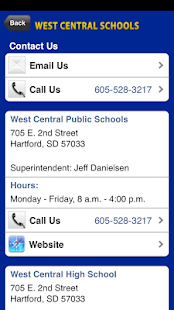 West Central School District- screenshot thumbnail