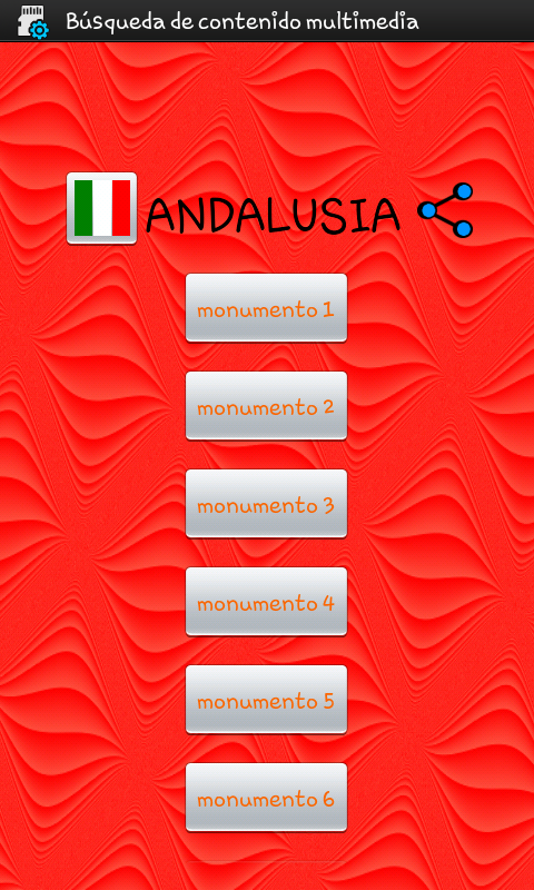Turismo Andalusia- screenshot
