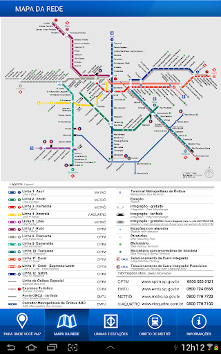 Metrô de São Paulo Oficial – Apps no Google Play 50ba75653f