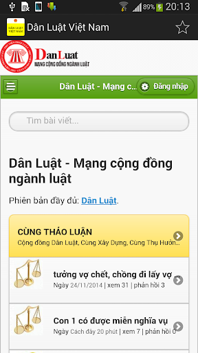 Dan Luat Viet Nam