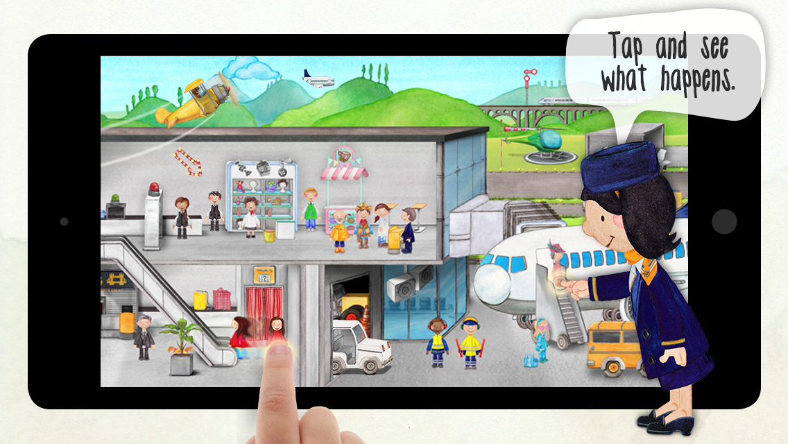 Tiny Airport Seek & Find Kids- screenshot