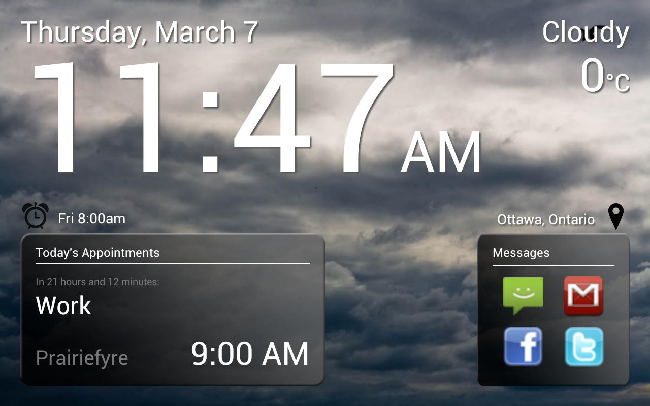 Good Morning Alarm Free - screenshot