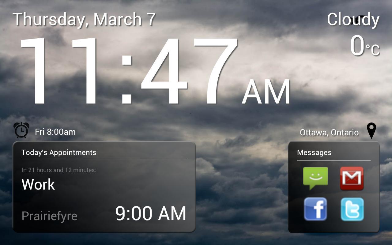 Good Morning Alarm Free - screenshot