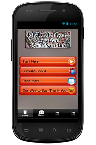 Find Call Phone Location