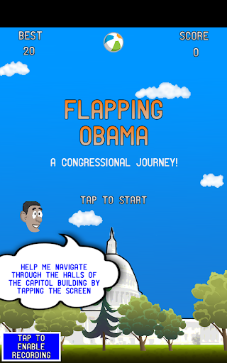 Flapping Obama