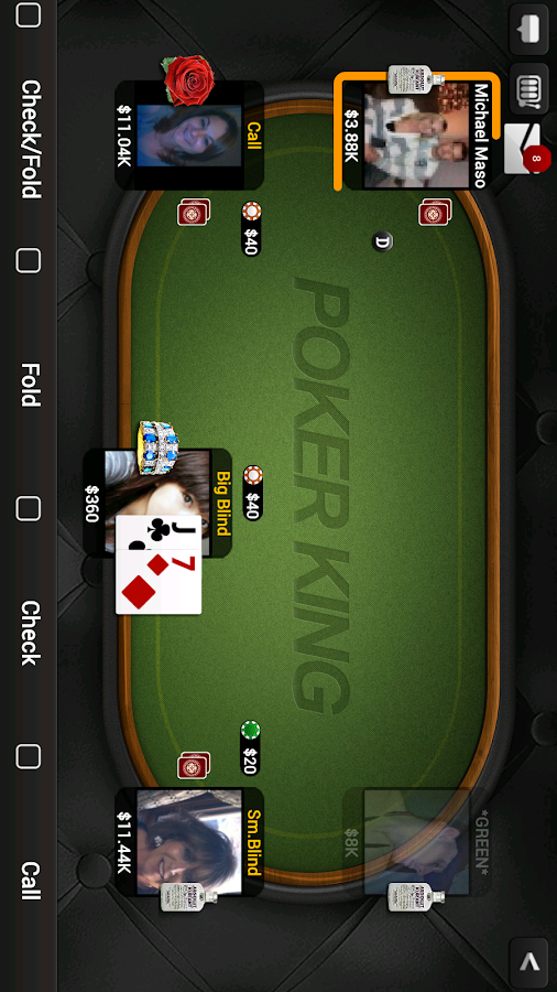 texas holdem poker king app