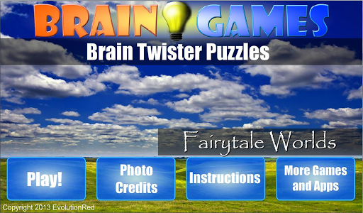 Fairytale Worlds: Brain Puzzle