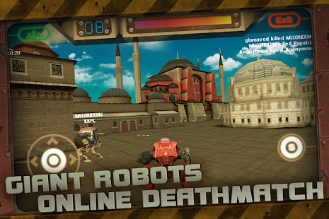 CONFLICT ROBOTS MULTIPLAYER - screenshot thumbnail