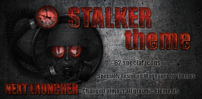 Next launcher theme STALKER R