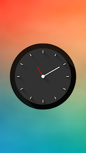 Long Shadows Clock - UCCW Skin Screenshot 4