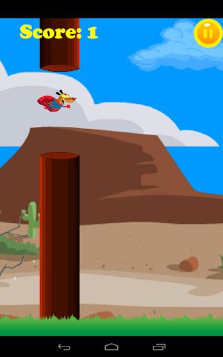 【免費街機App】Flappy Super Dog-APP點子