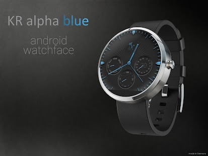 How to get KR alphablue watchface Moto360 lastet apk for pc