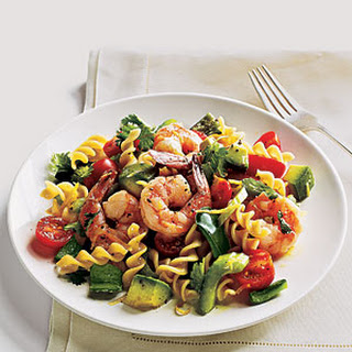 Lemon-Splashed Shrimp Salad.