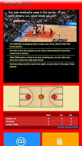 Jeremy Lin Video Game