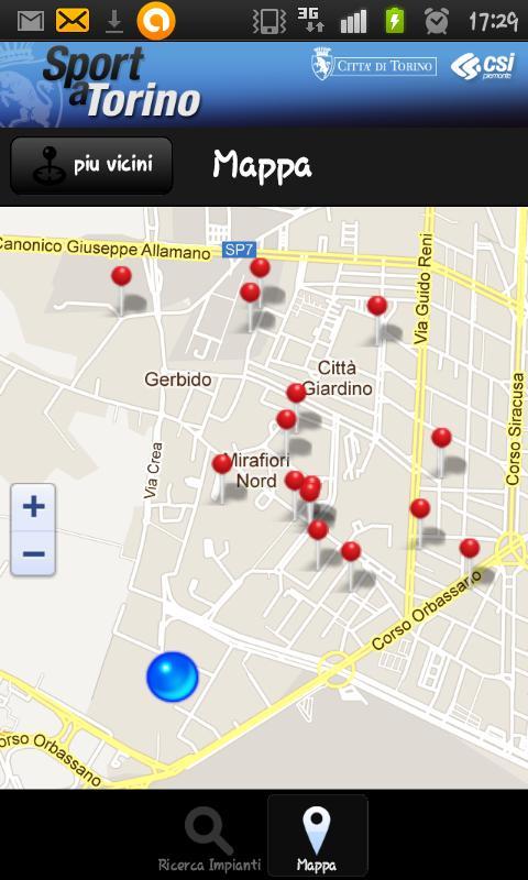 Sport a Torino- screenshot