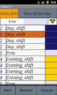 My Shift Calendar - screenshot thumbnail