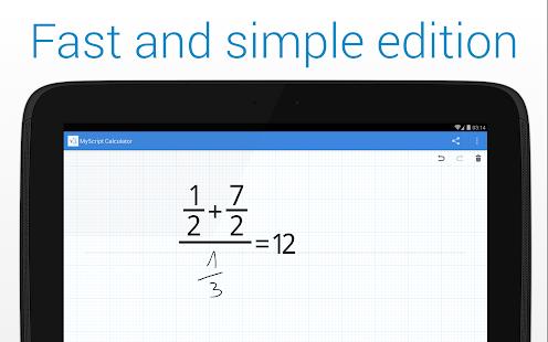 MyScript Calculator Screenshot 17
