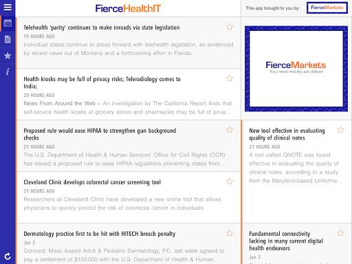 【免費新聞App】FierceHealthIT-APP點子