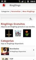 Screenshot of HTML RingDings