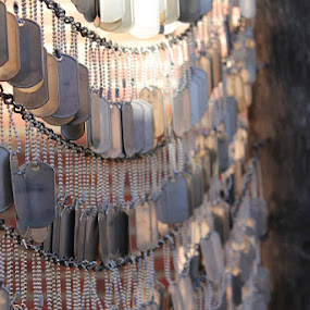 Vietnam Memorial by David Montemayor - Artistic Objects Other Objects ( dogtags, memorial, boston, vietnam )