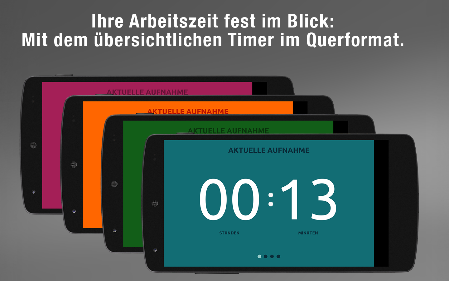 timeEdition - Zeiterfassung – Screenshot