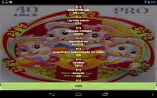 Screenshot of 4D LUCK PRO