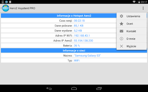 Aero2 Asystent PRO- screenshot thumbnail