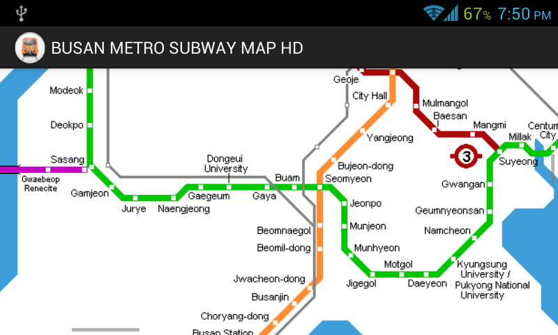 Download The Busan Metro Subway Map Hd Android Apps On Nonesearch Com