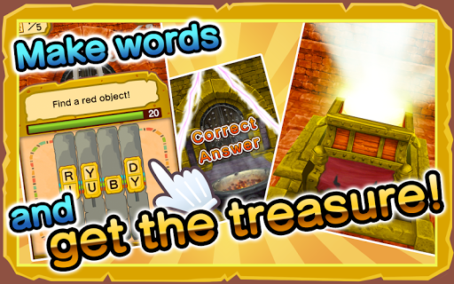Quiz Match and Treasure