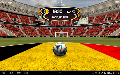adidas 2014 FIFA World Cup LWP - screenshot thumbnail