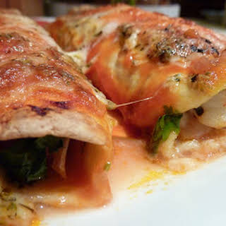 Seafood Enchiladas.