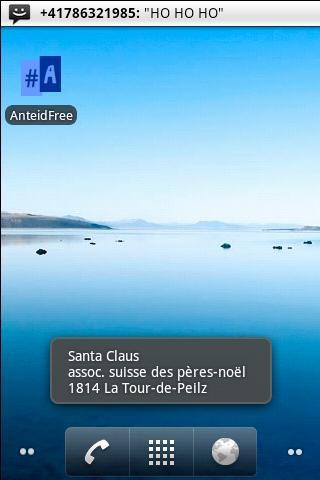 Anteid Free Caller ID - screenshot