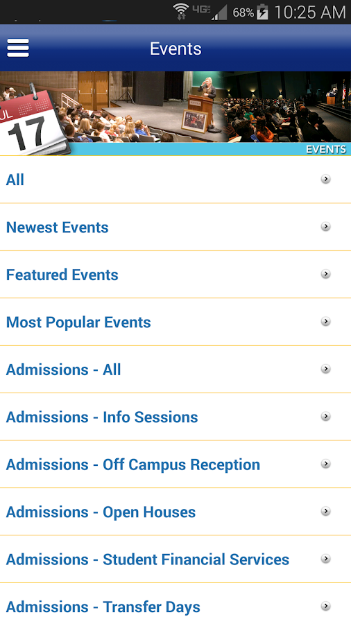 Hofstra University - screenshot