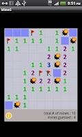 Screenshot of Vintage Minesweeper