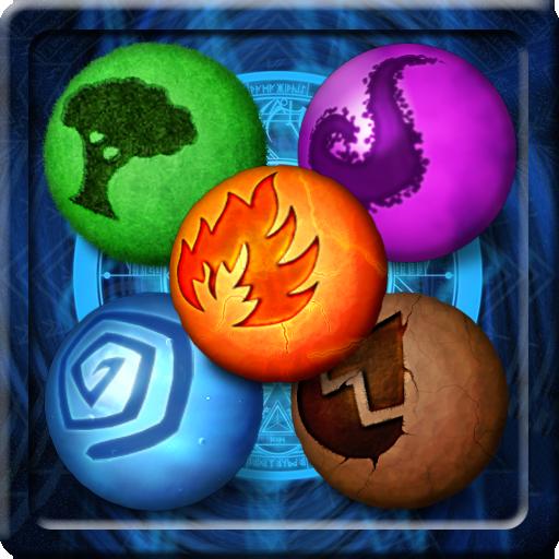 魔法元素瘋狂 LOGO-APP點子
